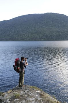 Enjoying scenery and solitude along Upper Priest Lake