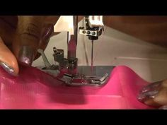how to hem chiffon with a sewing machine
