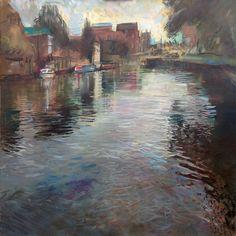 Rob Pointon (British). Tewkesbury Reflection