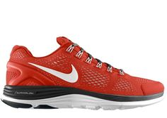 Nike LunarGlide+ 4 Red/White