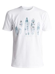 quiksilver, Waterman Agram - T-Shirt, WHITE (wbb0)