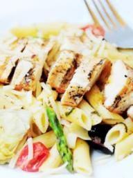 Summer Penne Pasta   KitchenDaily.com