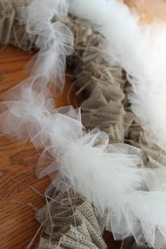 tulle decoration - Google Search