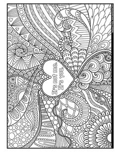 I f*cking Love You: An Irreverent Adult Coloring Book (Irreverent Book Series) (Volume New Year Coloring Pages, Valentine Coloring Pages, Printable Adult Coloring Pages, Colouring Pages, Coloring Books, Coloring Stuff, Coloring Sheets, Swear Word Coloring Book, Secret Boards