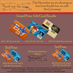 Giving THANKS to our fans with this November Giveaway!