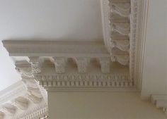 Plaster crown molding