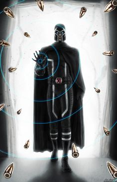 Magneto The man in black by mr-sinister2048.deviantart.com on @DeviantArt