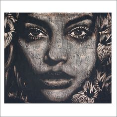 PAM GLEW »NEW GROWTH (MODEL-PORTRAIT: BARBARA PALVIN)«