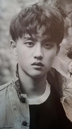 EXO released first photobook 'DIE JUNGS' #kyungsoo