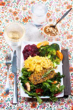 Gluten-Free Vegan Thanksgiving Menu: 'tis the season for holiday eats! #vegan #thanksgiving #recipes
