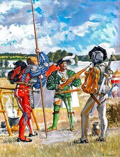 "Mercenaries Teutonic Order approx. 1520"""