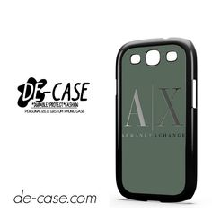 Armani Exchange DEAL-958 Samsung Phonecase Cover For Samsung Galaxy S3 / S3 Mini