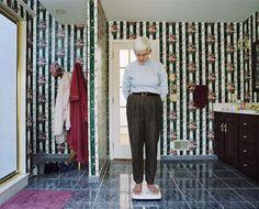 My Mother on the Bathroom Scale, 1999 Doug DuBois