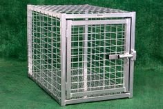 Heavy Duty Indestructible Escape-Proof Steel Dog Crate – Heavy Duty Pet Crates #dogcrate #indestructible #unescapable