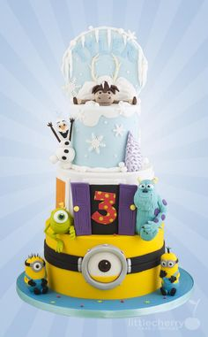 Cartoon Cake by Little Cherry