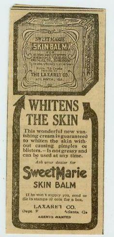 Advertising-Skin-Whitener-Sweet-Marie-Black-Americana-Macon-Georgia-C-1920