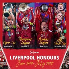 Liverpool Kop, Liverpool Football Club, Community Shield, Club World Cup, Bt Sport, Star Art, Baseball Cards, Sports, Instagram