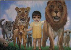 """""""A Mere Little Boy"""" by Margaret Keane"""