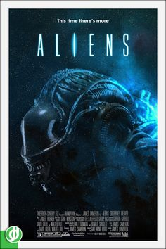 ALIENS. Poster designed by Jidé.