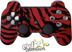 Red Zebra Favorite PS3 Controller Newest Playstation, Playstation Games, Xbox  360, Ps4, 0390e8113c