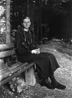 august sanders documentary photography | Photograph: August Sander , Young Farm Girl, 1930/1 in August Sander ...