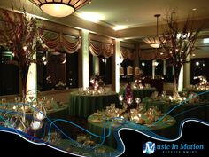 A well coordinated lighting presentation. Lighting by Music In Motion Entertainment of Seymour, CT.