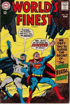 World's Finest 174 March 1968 Issue  DC Comics  by ViewObscura