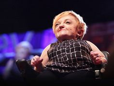 """Stella Young is a comedian and journalist who happens to go about her day in a wheelchair — a fact that doesn't, she'd like to make clear, automatically turn her into a noble inspiration to all humanity.""  If you watch one video today, Smart Girls, make it this one. An important message about how people with disabilities are viewed, talked about, and objectified."