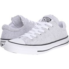 Converse Chuck Taylor All Star Madison Ox Women's Lace up casual Shoes (63 AUD) ❤ liked on Polyvore featuring shoes, sneakers, white, white sneakers, lacing sneakers, star shoes, converse trainers and metallic lace up shoes