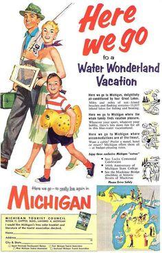 Detroit Metro Times Galleries - 29 vintage Michigan tourism ads