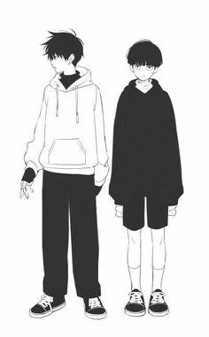 Mob Psycho Kageyama Shigeo and Ritsu Manga Anime, Me Anime, Anime Art, Character Inspiration, Character Art, Character Design, One Punch Man, Fanart, Mob Psycho 100 Anime