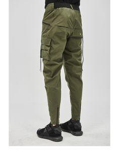 sestao cargo pants olive Cargo Pants Men, Khaki Pants, Joggers Outfit, Men Trousers, Men's Bottoms, Colored Pants, Zara Man, Work Pants, Mens Sweatshirts