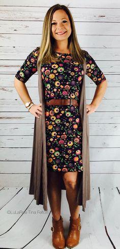LuLaRoe Julia and LuLaRoe Joy of the LuLaRoe Outfit win! LuLaRoeTinaFelton (What Is Your Favorite Lularoe) Lula Outfits, Floral Outfits, Floral Dresses, Modest Outfits, Skirt Outfits, Work Outfits, Casual Outfits, Modest Fashion, Fashion Outfits