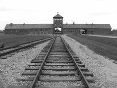 Het concentratiekamp in Auschwitz.