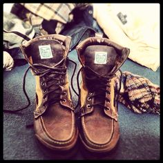 www.Filson.com | Filson X Sebago boots are fit for town and the field.