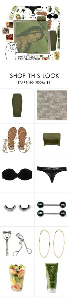 """""""x. so tell me what you would like me to do to help you, help me, help you 'cause i don't really want to chill without you."""" by fr-uitactivist ❤ liked on Polyvore featuring Rachael Ray, Billabong, illy, Cosabella, Dolce&Gabbana, Japonesque, River Island, Aroma, RAHUA and AMBRE"""