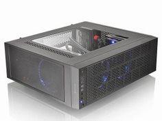 エルミタージュ秋葉原 – わずか幅14cmのハイエンドマシンが組める、ThermaltakeのスリムATXケース「Core G3」が今週発売
