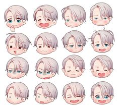The many faces and emotions of our dear darling Viktor Nikiforov!