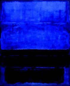 Blue. Rothko