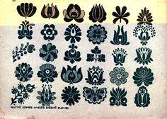 Folk Embroidery Patterns Hungarian embroidery tulip pattern (possible tattoo idea) Embroidery Designs, Embroidery Motifs, Learn Embroidery, Embroidery For Beginners, Embroidery Tattoo, Floral Embroidery, Folk Art Flowers, Flower Art, Stitch Head