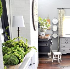 """If you've joined us from Annie over @ Zevy Joy Welcome! We love being a part of this One Room Spring Tour Blog Hop and hope you find inspiration for your homes along the way. So let's get to it! Springtime at the Farmhouse. But let's just be honest and real here from the get go….. The last time we """"set"""" the table was, let's see,..."""