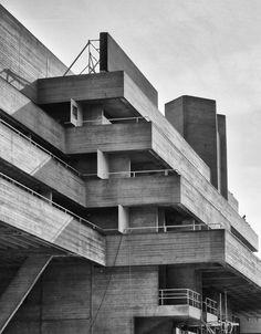 Béton brut: National Theatre - London