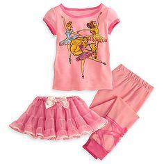 Ballet Disney Princess Deluxe PJ Pal and Tutu Set for Girls | PJ Pals | Disney Store