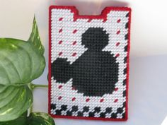 SALE  Business or Gift Card Holder  Mouse by MissLadyBugCrochet, $7.00