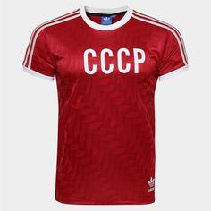 Camisa União Soviética Retrô Home 1982 Adidas Masculina - Compre Agora 51ade03ab6ca4