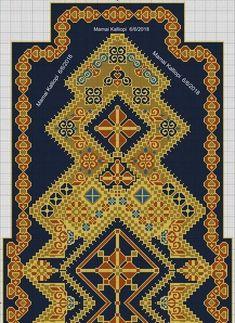 Cross Stitch Designs, Cross Stitch Patterns, Cross Stitches, Cross Stitch Embroidery, Needlepoint, Watercolor Art, Needlework, Bohemian Rug, Projects To Try