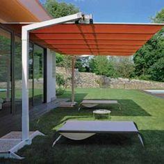 8u0027 X 14u0027 Flexy Aluminum Rectangle Offset Umbrella