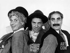 The Marx Brothers, Harpo Marx, Chico Marx, Groucho Marx, Late 1930s Premium Poster at Art.com