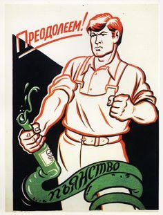 De posters die de Russen van het drinken af moesten houden - VICE