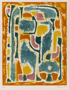 Alfred Manessier (France 1911-1993),  Sans titre, 1949